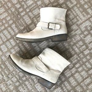 MIA 8.5 Suede pull on Motorcycle boots 🥾